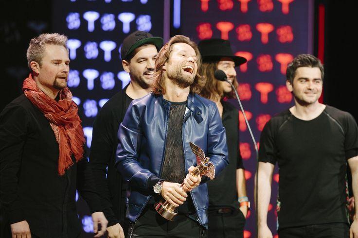 Skupinou roku se stala skupina Kryštof za album Srdcebeat.
