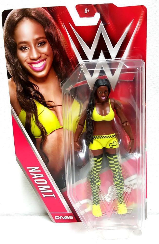 2015 WWE Naomi Divas Basic Wrestling Action Figure #Mattel #wrestling #divas #actionfigures