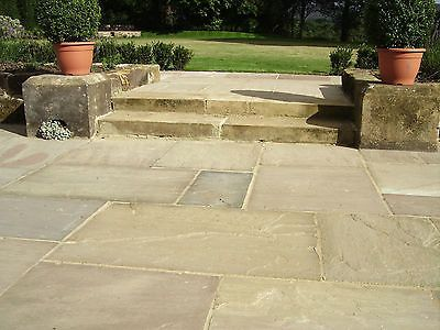 #Premium natural indian sandstone patio paving flags #garden #pavers in mixed pac,  View more on the LINK: http://www.zeppy.io/product/gb/2/142033344557/