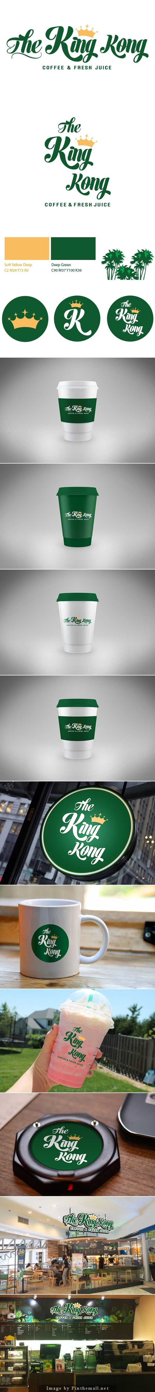 The King Kong | Cafe Branding by Suhwa Hwang