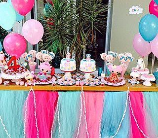 Festa muito fofa Lalaloopsy com bolo e doces @madamegateau. Decoração por @marlenerivellino  #kikidsparty