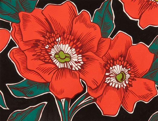 Alexander Henry, Poppies de Potosi Black