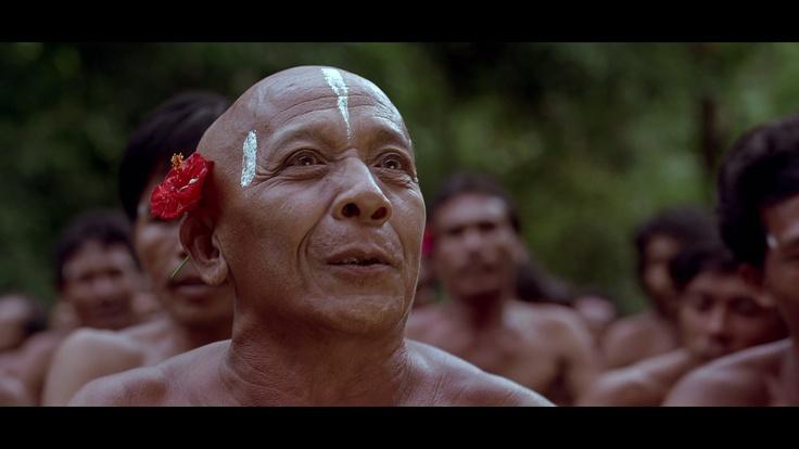 Screenshot from a movie Baraka