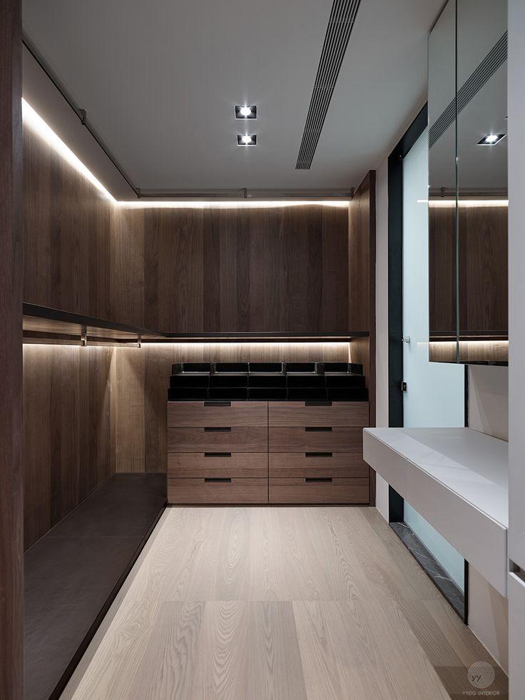 Wardrobe Storage, Storage Closets, Wardrobe Closet, Closet Bedroom, Closet  Layout, Walking Closet, Closet Designs, Wardrobe Design, Residential  Lighting