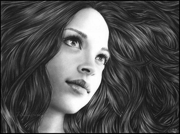 Karakalem Çizimleri- Karakalem Çalışmaları - Vazgecmem.NET