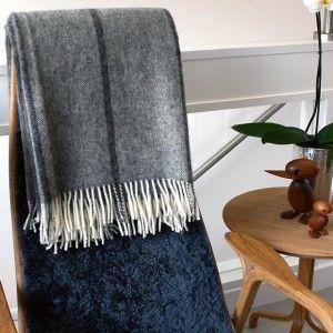 Roskilde Scandinavian Wool Throw