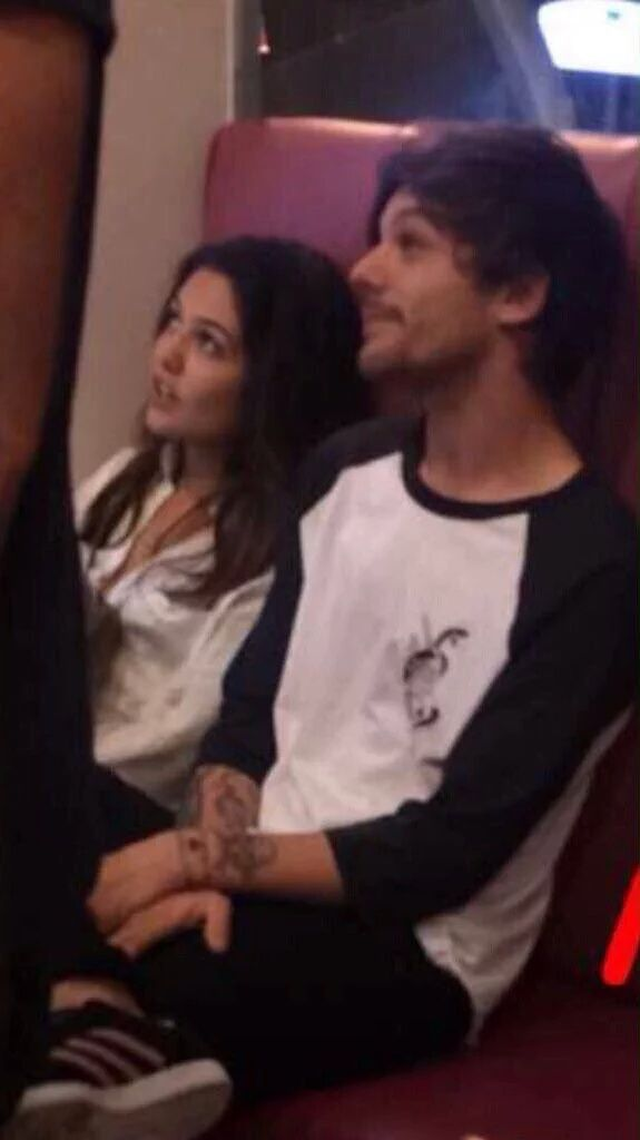 Louis and Danielle..they look so  cute together <3