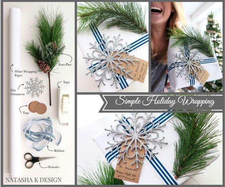 Simple Holiday Wrapping — natasha k design