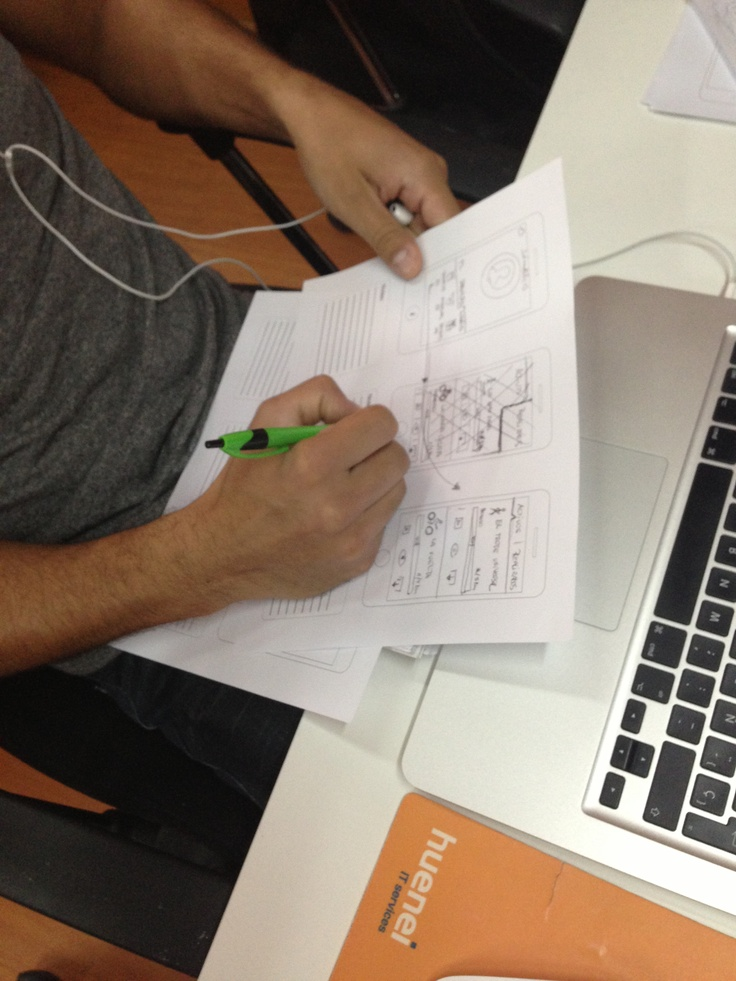 Trabajando en el diseño nuevo