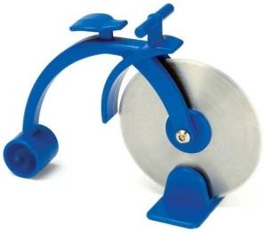 A bike pizza cutter! lo quiero AHORA!
