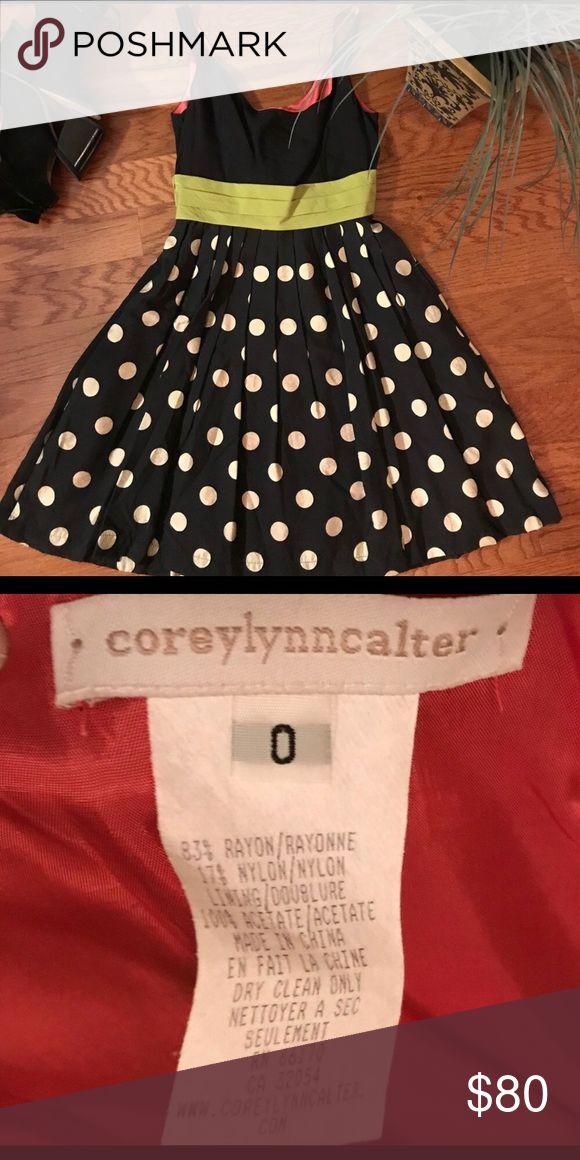 Fun & Flirty 💕 Polka Dot Party Dress Fun & Flirty 💕 Polka Dot Party Dress by COREYLYNNCALTER sold at Anthropologie   Size 0 Corey Lynn Calter Dresses Mini