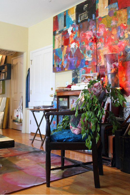 Sabrina Ward Harrison's Creative Space in Silver Lake