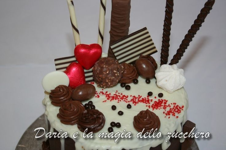 #Drippy cake #Chocolate drippy cake