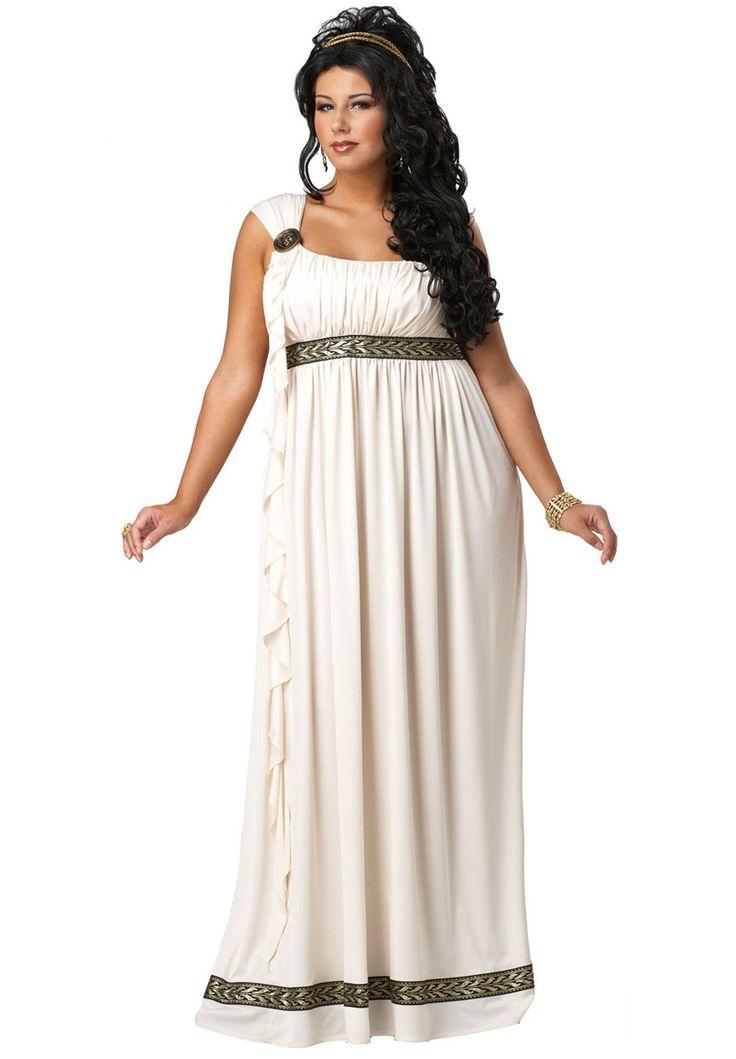 olympic goddess adult costume plus size plus size halloween costumes onestopplus