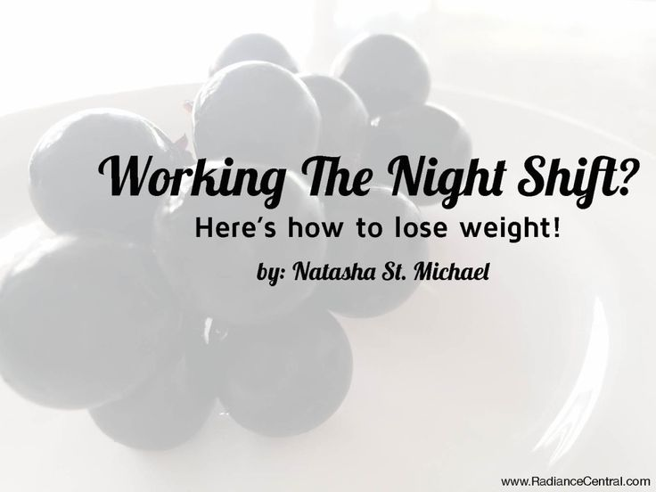 Lose weight times to eat