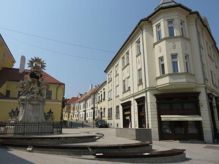 Gyor Old Town Area - Gyor, Hungary