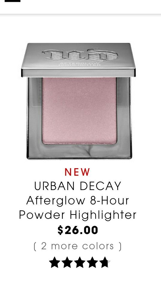 UD afterglow highlighter