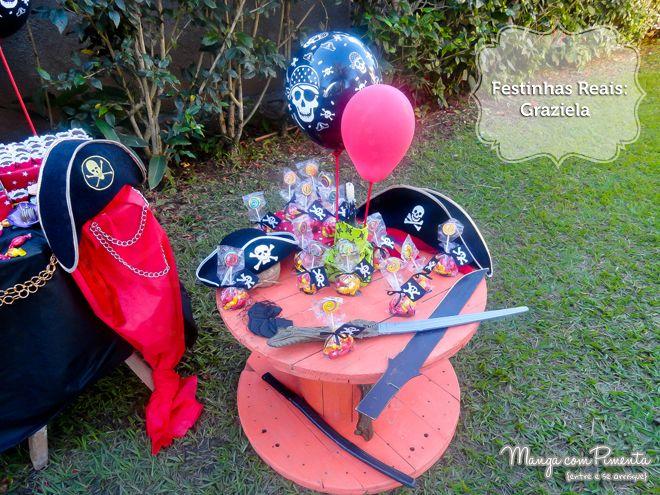 Festinhas Reais: Tema Pirata para aniversário de Menino