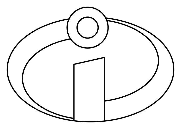 The Incredibles Logo Printable | Logo: You can print out the logo ...