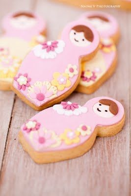 Bubble and Sweet Babushka Cookies