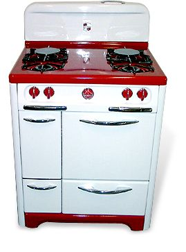 Original pinner sez: Antique Vintage Stoves by Dream Stoves.  Heart be still!!!!!