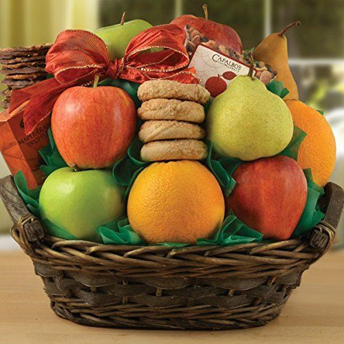 Fairfax Fruit Gift Basket -- Click the VISIT button for great gift idea