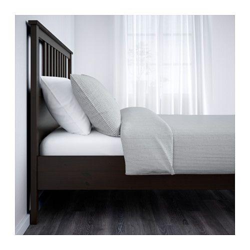 HEMNES Bedframe - 140x200 cm, Leirsund - IKEA