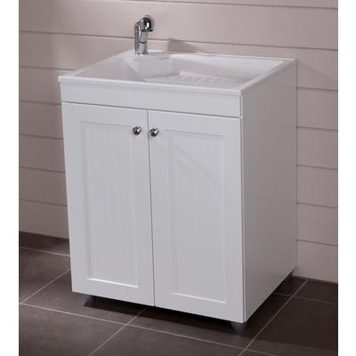 St Paul 27 Inch X 32 Inch Laundry Base Cabinet In White Bc2732c Wh Home Depot Canada