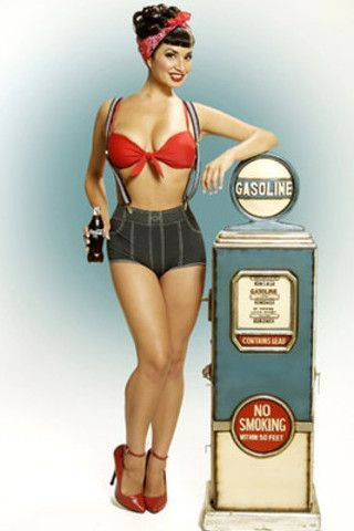 10 best images about gas pump pin up on pinterest
