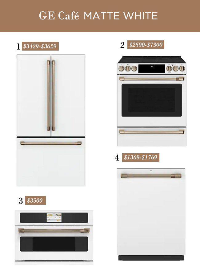 Stylish Non Stainless Kitchen Appliances Roundup With Images Stainless Appliances Kitchen Kitchen Aid Appliances Kitchen Appliances