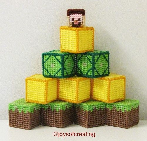 25 best ideas about minecraft blocks on pinterest for Plastic blocks for crafts