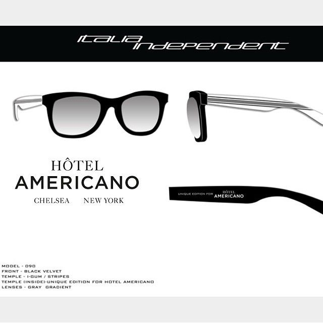 Italia Independent Hotel Americano.