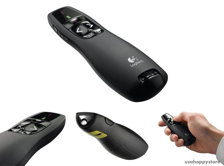 Logitech Wireless Presenter Laser Pointer Professional Slideshow Control Lecture #Logitech