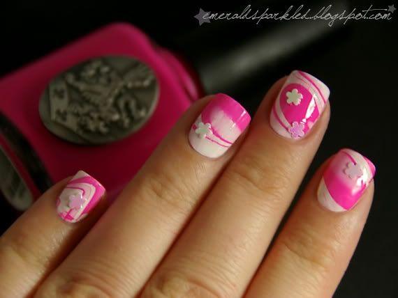Fotos de uñas pintadas color rosa – 50 ejemplos   Pintar Uñas - Pink nails