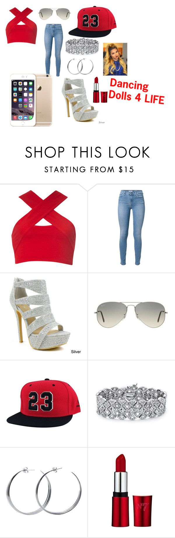 """DD4L by Nia"" by bresafashionista on Polyvore featuring Motel, Celeste, Ray-Ban, Palm Beach Jewelry and Coco's Liberty"