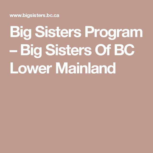 Big Sisters Program – Big Sisters Of BC Lower Mainland