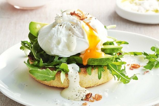 These are Brekkie Eggs with my instant Mayo.