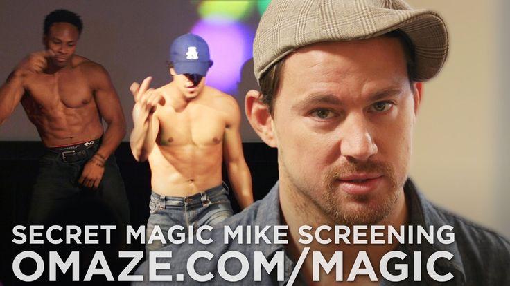 Channing Tatum Dances at Prank Magic Mike XXL Screening.