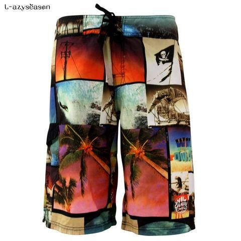 2017 New Fashion Casual Men's Gyms Shorts With Pockets Clothing Fitness walking workout jogger shorts