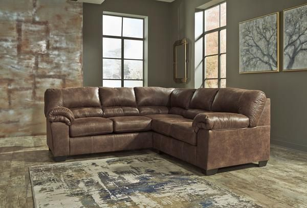 Bladen 2 Piece Laf Sectional In 2020 Bedroom Furniture Redo Brown Sectional Sofa Furniture
