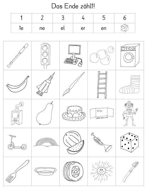 Das verfuchste Klassenzimmer - Arbeitsblatt, Spiel - 1. Klasse ...