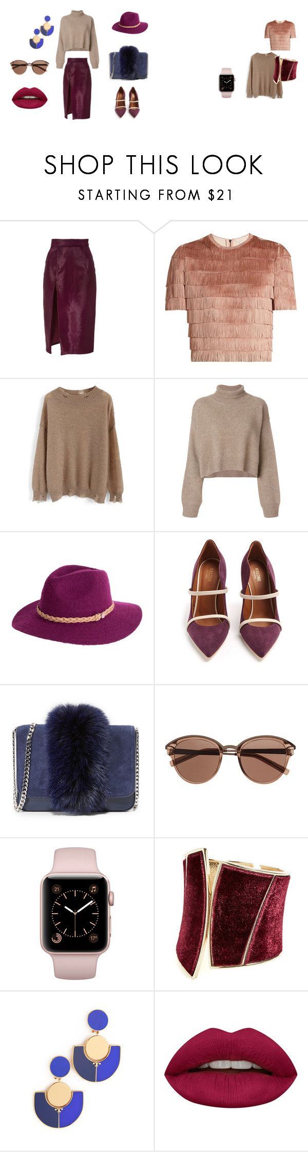 """Разноцветные фактурные вещи"" by beanka100 ❤ liked on Polyvore featuring Brandon Maxwell, Raey, Chicwish, Rejina Pyo, Malone Souliers, Loeffler Randall, Witchery, GUESS by Marciano, Tory Burch and Huda Beauty"