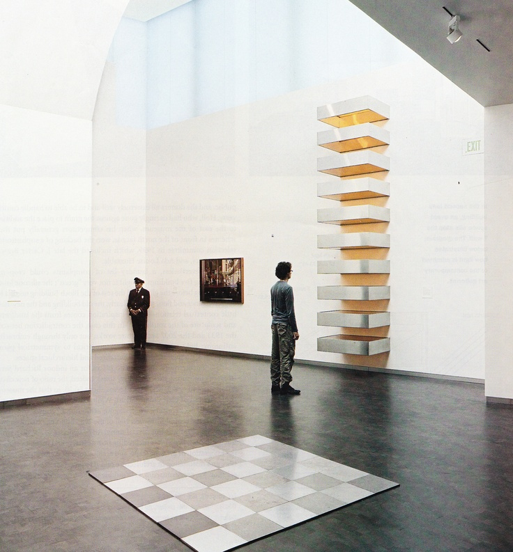 34 best donald judd stacked images on pinterest donald for Donald judd stack 1972