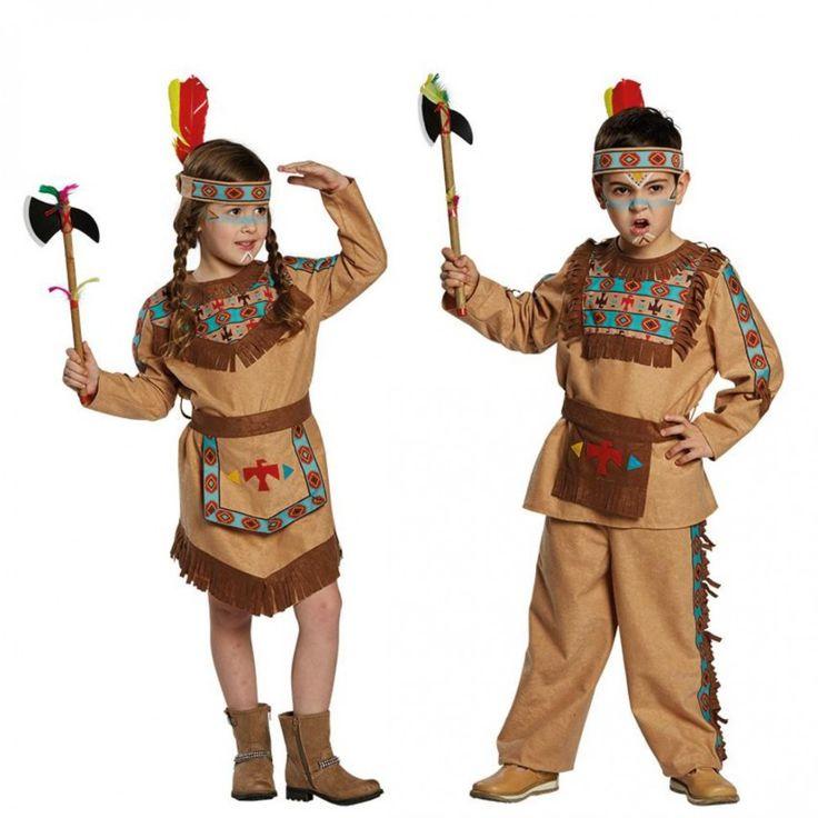 Indianer Kostüm für Jungen udn Mädchen   Kinderkostüme für