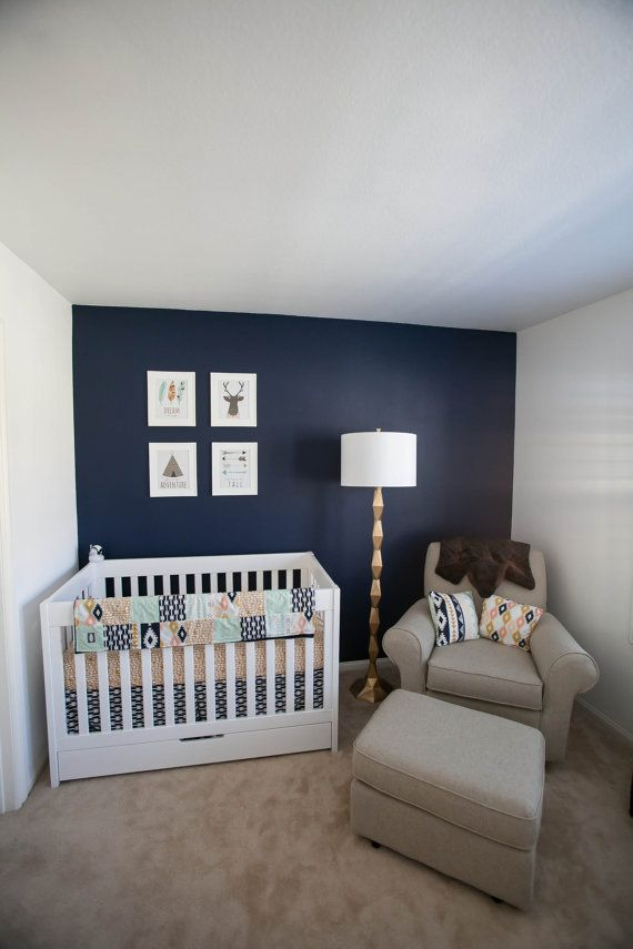 Navy Blue Boy Nursery Thenurseries
