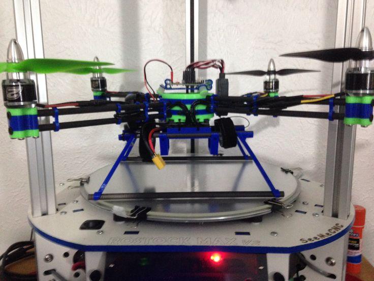 7 best 3D printed Carbon Viber Quadcopter by Jim Spencer images on ...
