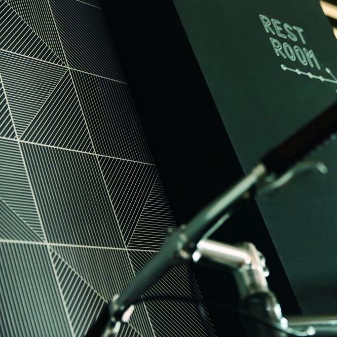 AS Creation Aisslinger Square Striped Pattern Motif Wallpaper 955823