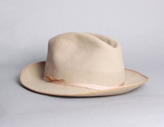 40s Royal STETSON FEDORA / Stratoliner Men's HAT by LuckyDryGoods, $100.00