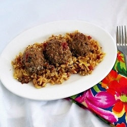 South African Chicken Meatballs by MrsMeltaway