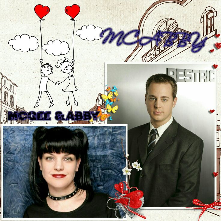I love you XOXO Sean Murray & Pauley Perrette aka Timothy McGee & Abby Sciuto 💖💖💖 XOXO